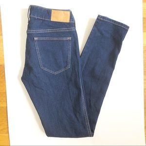 H&M Skinny Jeans - 26/32 dark wash